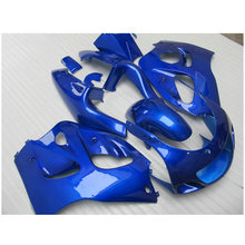 Customize Fairing kit fit for SUZUKI GSXR600 GSXR750 1996-2000 all blue fairings set GSXR 600 750 96 97 98 99 00 FF2