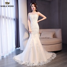 Buy 2018 Mermaid Wedding Dresses Backless Bride Dress Sexy Real Photo Lace Appliques Wedding Gowns Vintage Vestido De Noiva for $109.99 in AliExpress store