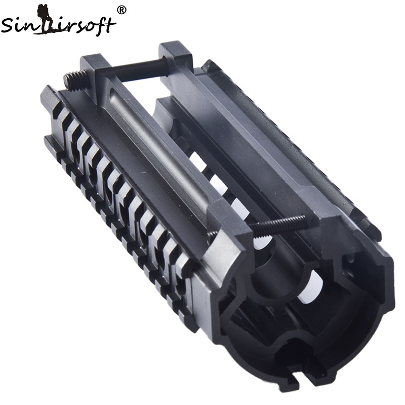 One-Piece Design Quick Fit Metal Tri-rail Handguard System for MP5 and Variants  MNT-HGMP5A<br>