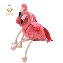 1PCS 30CM Simulation Flamingo Plush Toy, Cute Wildlife Bird Stuffed Plush Toy, Kids Toy, Home Shop Decoration