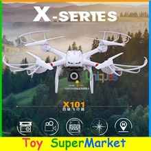 MJX X101 RC Quadcopter with Camera HD 720P Wifi FPV Real Time Video Remote Control Helicopter Big Drone One-Key Return PK X8C