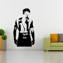 Neymar Footballer Wall Art Sticker Wall Decal Sport Vinyl Mural House Decor Famous Football Player Decal