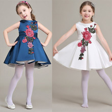 baby girl clothes girls dress pretty princess dress sleeveless party wedding dresses kids new summer clothes children clothing