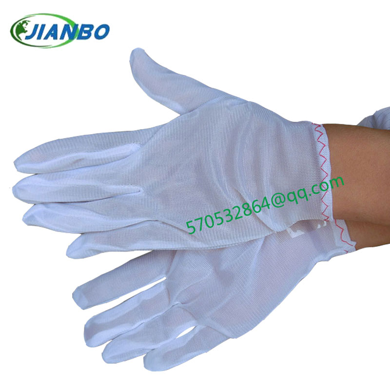 The anti-electrostatic static electricity appropriation protection in gloves white room purifies gloves<br><br>Aliexpress