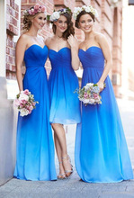 2016 New Design Bridesmaid Dresses A-Line Long Sweetheart Sleevless Sheath Plus Size Floor Length Chiffon Bridesmaid Gowns