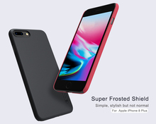 Buy Original NILLKIN Frosted shield Phone case iPhone 8 Plus Bumper Case + Nillkin Screen protector Film iPhone 8 case for $7.98 in AliExpress store