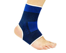New 2017 Hot 2pcs Wrap Pain Relief Sports Support Brace Elastic Compression Ankle Foot Sleeve