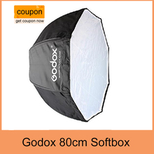 Godox 80cm/31.5in Portable Octagon Flash Softbox Umbrella Brolly Reflector for Studio Photo Flash Speedlight light Speedlite