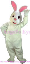 Professional Custom Adorable Snow Rabbit Mascot Costume Factory Direct Snow Rabbit Easter Bunny Mascotte Fancy Dress SW1474(China)