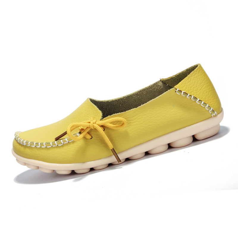 ASDS Women spring summer Cowhide soft Genuine Leather Moccasins Womens Leisure casual Flat Shoes Mother Shoes<br><br>Aliexpress