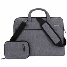 For Macbook 12 Air Pro 11 13 15 17 Case Nylon Waterproof Messenger Shoulder Computer Bag Sleeve Laptop Bag Accessories ASUS DELL