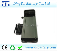 free shipping LiFePO4 36V 10ah 10.5ah rear rack battery pack long cycle 2000times for ebike with charger(China)