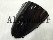HotSale Windshield WindScreen For Kawasaki ZX6R zx6r 636 2005 2006 2007 2008 05 06 07 08 ZX10R zx10r 2006 2007 06 07(China)