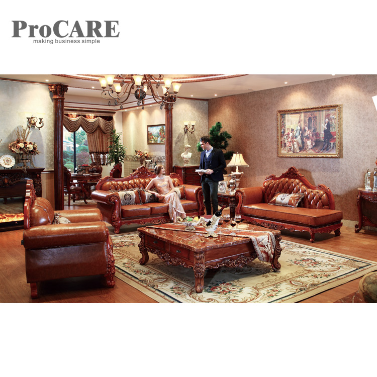 2019 European Leather Sofa Set Living Room Corner Sofa Antique A931B From  Procarefoshan, $3266.34 | DHgate.Com