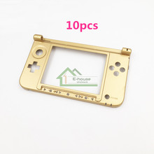 10pcs Original Used Bottom Middle Shell Replacement for Nintendo 3DS XL Genuine Button Frame Face Hinge Plate for 3DS LL