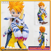 "Japanese Anime ""Digimon Adventure"" Original MegaHouse G.E.M. Series 1/10 Complete Figure - Yamato ""Matt"" Ishida & Gabumon"