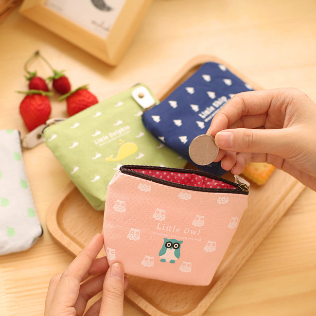 Excellent Quality Hot Sale Wallets for Girls Owl Dolphin Pattern Female Wallet Card Holder Coin Purse China Wallet Ladies Purse <br><br>Aliexpress