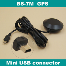GPS receiver mini USB connector,UART TTL level,module antenna,built in FLASH,for car dvr recorder,BS-7M(China)