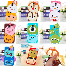 For Samsung Galaxy S8 S8plus Lovely 3D Cartoon Tsum Sulley Daisy Mike Rubber Soft Silicone Mobile Phone Cases Cover(China)
