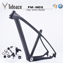Cheap T800 carbon mtb frame 29er Chinese full carbon frame for bicicletas mountain bike 29 carbon bicycle frameset mtb 142/135mm