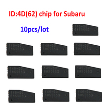 10pcs/lot ID4D62 car key chip carbon for SUBARU TP28 ID:4D(62) Carbon transponder Chip 4D62 chip