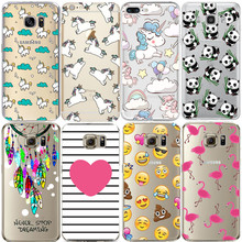 Flamingo Case For iPhone X 8 7 5S 5C SE 6 6S Plus for Samsung Galaxy Grand Prime J3 J5 J7 A3 A5 2016 2017 S5 S6 S7 Edge S8 Plus