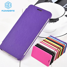 Classic Simple Style flip Phone cover leather case For Ascend Huawei P8 Lite 2015 Original Phone Case For Huawei P8 mini(China)