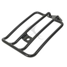 Black Solo Seat Luggage Support Shelf Rack For Harley XL Sportsters Iron 48 883 XL1200 2004-2016
