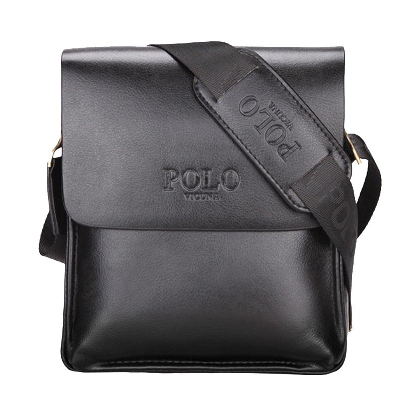 POLO Famous Brand Leather Men Bag Casual Business Leather Messenger Bag Vintage Mens Crossbody bag Shoulder Bags Briefcase<br><br>Aliexpress