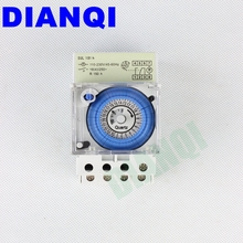 DIANQI AC 220V 16A 24 hours Analog Mechanical Time Switches Manual /Auto Control SUL181H timer(China)