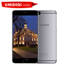 Umidigi C Note Android 7.0 Metal Cell Phone Fingerprint Mobile Phone MTK MT6737T 3GB RAM 32GB ROM 3800Mah Auto-focus 4G Phone(China)