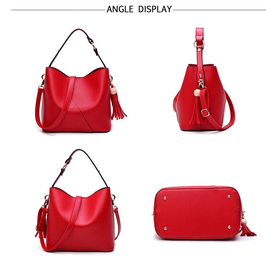 Leather Bag Luxury PU Women Shoulder Bags Handbag Brand Designer Bags New 17 Fashion Ladies Hand Bag Women's Bolsa Feminina 9