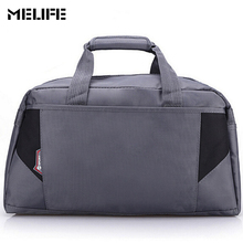 MELIFE Waterproof Gym Bag Women Nylon Outdoor Fitness bags Large Capacity Men Nylon Material Sports Portable duffle Gym Bags(China)