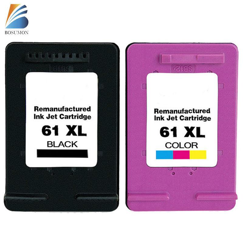 for hp 61 ink cartridge ink cartridge 2 Pack BK+C  for HP Deskjet 1000 1050 1055 2000 2050 2512 3000 J110a J210a J310a Printer<br><br>Aliexpress