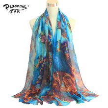 2016 Newest Design Bandana Printing Winter Scarf Women Shawls Warm Scarves Viscose Brand Scarf Woman Wrap BLS041