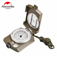 NatureHike Luminous Lens Digital Geological American Compass Marine Outdoor Camping Military Sports Navigator Equipment Bussola(China)