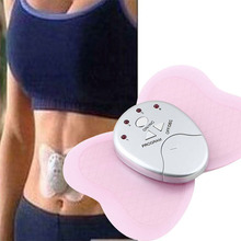 2017 Massage Product Butterfly Design Body Muscle Massage Electronic Hot Sales Mini Pink Slimming Massage & Relaxation for Lady(China)