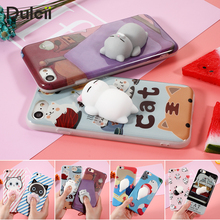 Cover for iphone 7 Plus 6s 6 Case Cute Soft Squishy Case for iPhone 6s Plus 6 Plus Cover Coque Seal Bear iPhone6s iPhone7 Plus
