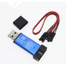 1pcs ST LINK Stlink ST-Link V2 Mini STM8 STM32 Simulator Download Programmer Programming With Cover