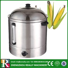 Electric 48L commercial 304 food grade stainless steel sweet corn steamer(China)