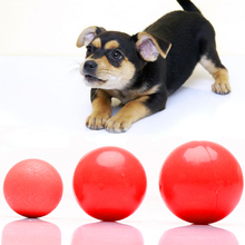 Red Funny Boomer Ball Dog Puppy Toys Cheap Pet Dog Cat Playing Toys Pet Puppy Training Toys Accessories Hondenspeelgoed XP0400