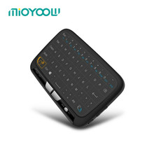 Mini H18 Wireless 2.4 G Portable Keyboard With Touchpad Mouse for Android/Google/Smart TV Linux Windows Mac(China)