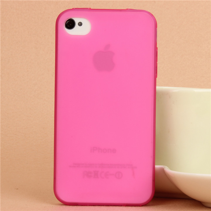 For Iphone 4 Case Iphone 4s Cover Tpu Soft Matting Clear Transparent Protective Cell Phone Case Cover(China (Mainland))