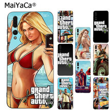 MaiYaCa rockstar gta 5 Grand Theft Coque Основа Чехол для телефона для huawei Mate10 Lite P20 Pro P9 P10 плюс Mate9 10 honor 10 вид 10(China)