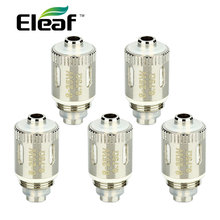 5pcs/Lot Original Eleaf GS Air 2 Coil Head 0.75ohm Gs-Air Replacement Pure Cotton Head For iSmoka GS Air 2 Tank Atomizer E Cigs(China)