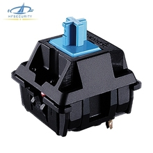 [HFSECURITY] Cherry Mx Switch for Mechanical Keyboard DIY Axis Switch for Green White Black Red Brown Blue Axis(China)