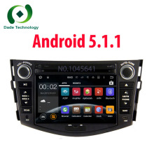 2 din Car DVD GPS multimedia Android 5.1 2Din For Toyota Rav4 RAV 4 with 1024*600 Capacitive Touch Screen Flash Radio FM RDS BT