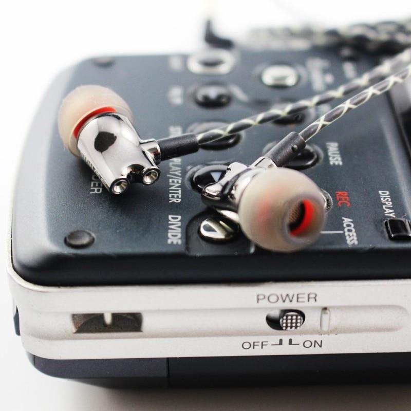 Wooeasy DIY IE800 Earbuds HiFi In-ear Ceramic Earphone Earbud Earbuds Wth Microphone Top Quality HiFi In-Ear Headset 9