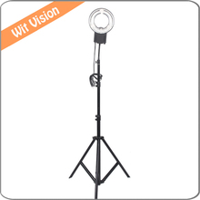 22W 5400K  Ring Lamp Light +200CM Stand for Small Objects Shooting Portrait Make-up Lighting
