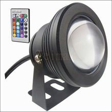 10W 12v LED Floodlight underwater RGB Led light Waterproof IP65 Outdoor Lighting Fountain Focos led piscina Lamp Lights16 color(China)